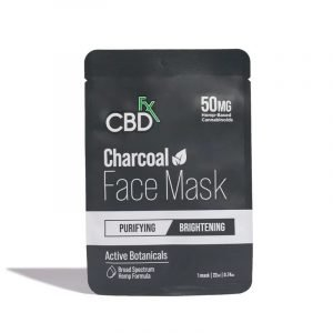 CBDfx charcoal cbd face mask