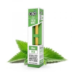 CBdfx Fresh Mint CBD Vape Pen 30MG