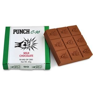 Punch Edibles – Blackberry Dark Chocolate 90mg