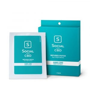 Social Patch - CBD Transdermal Patch