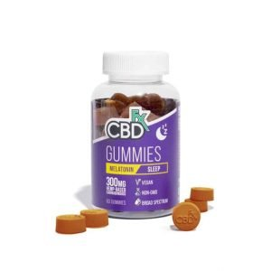 CBDfx melatonin gummies