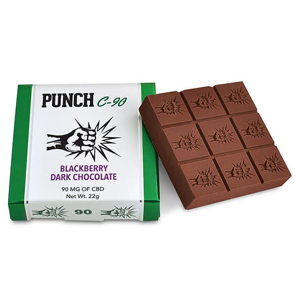 Punch Edibles – Dark Chocolate 90mg
