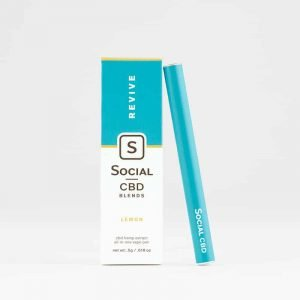 Social CBD - Lemon Vape Pen