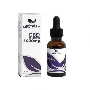Medterra CBD Oil 3000MG