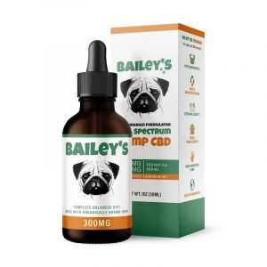 Bailey's Full Spectrum CBD Oil For Dogs w/ 300MG CBD