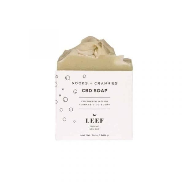 Leef CBD Soap – Charcoal and Clay