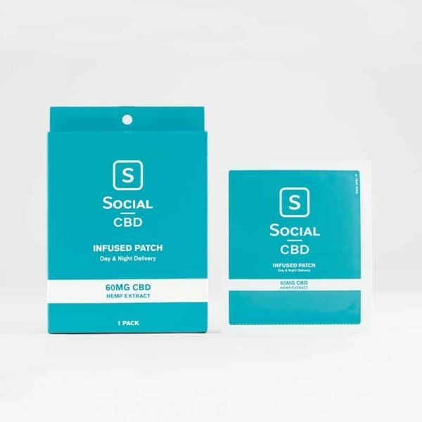 Social CBD Patch - 60mg 1pk