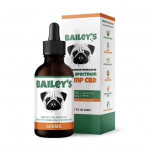 Bailey's CBD oil for dogs 600mg
