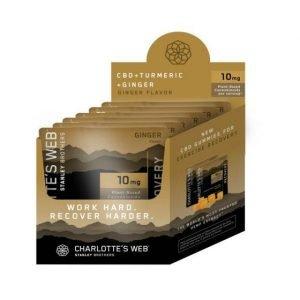 Charlotte's Web Recovery CBD gummies 6 pack pouch