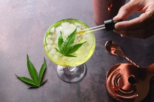 Mixing CBD with your alcoholic beverage